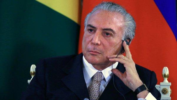 Врио президента Федеративной Республики Бразилия Мишел Мигел Элиас Темер