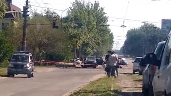 Покушение на Плотницкого: появились новые кадры с места ЧП. Видео