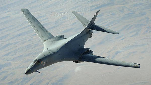 Стратегический бомбардировщик США B-1B Lancer