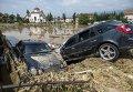 Последствия разрушительного шторма в Македонии