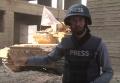 В Сирии возле репортера Аль-Джазиры взорвался танк в прямом эфире. Видео