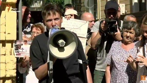 Савченко сообщила одоговоренности пообмену 2-х пленных наДонбассе