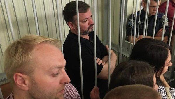 Владимир Медяник в зале суда