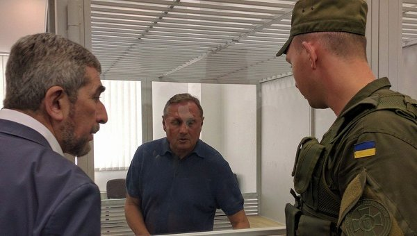 Александр Ефремов в ходе судебного заседания. Архивное фото