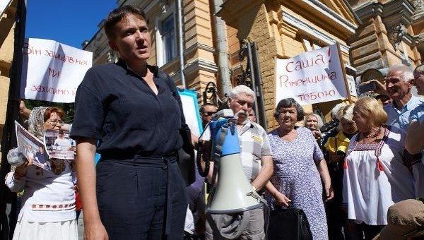 Афанасьев выступил против акции Савченко пообмену пленных— Никакой амнистии