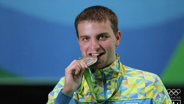 Серебряный призер Олимпиады-2016 Сергей Кулиш