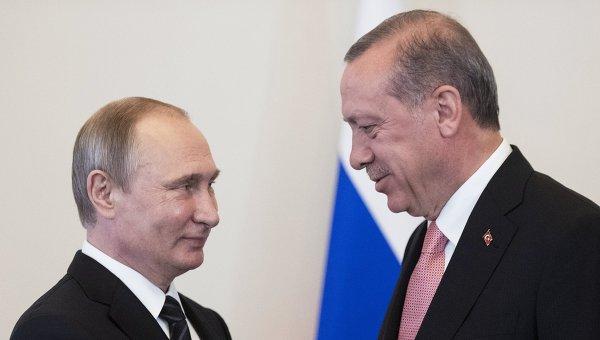 Сегодня Владимир Путин иРеджеп Эрдоган проведут встречу в северной столице