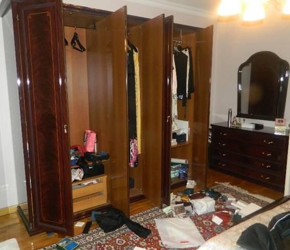 Ограбление квартиры экс-министра обороны Кузьмука в Киеве