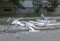 В Николаеве взорвался балкон многоэтажки. Видео