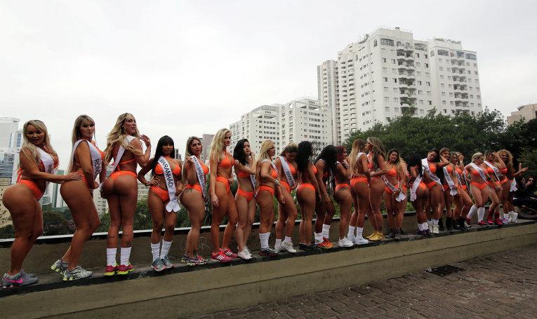 ВБразилии выбирают Мисс Бум-Бум: фото пышнотелых красавиц