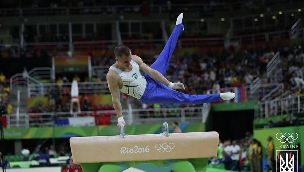 Гимнаст Олег Верняев завоевал для Украины 3-ю медаль наОлимпиаде