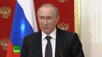 Путин о ситуации в Крыму. Видео