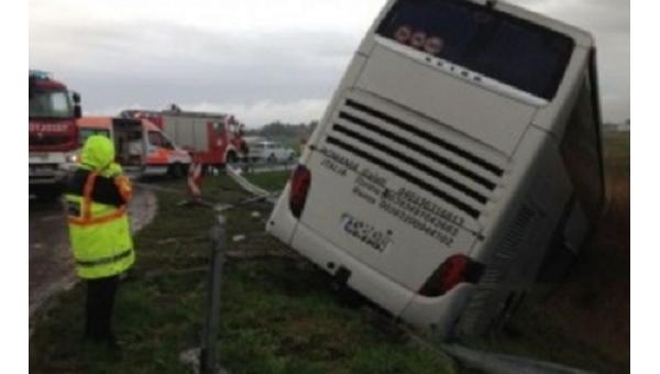 Туристический автобус с 58 украинцами попал в аварию в Румынии