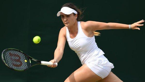 Британская теннисистка Габриэла Тейлор