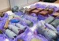 Взрывчатка, изъятая у крымских диверсантов