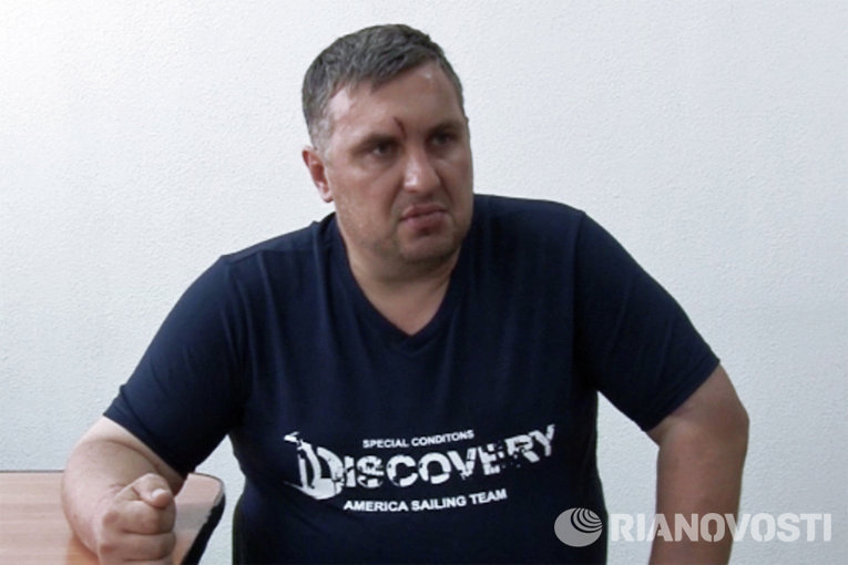 Евгений Панов в ходе допроса