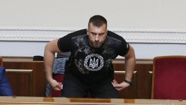 Народный депутат Олег Петренко. Архивное фото