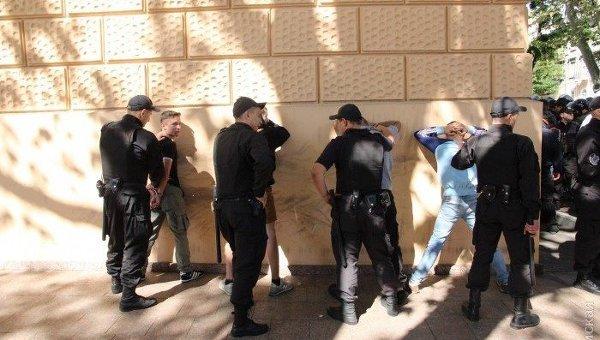 После Марша равенства вОдессе задержаны 5 человек