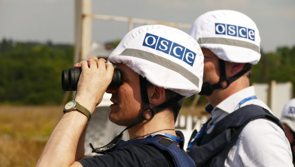 Миссия ОБСЕ зафиксировала наДонбассе мины иснаряды, которые неразорвались
