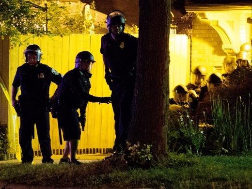 ВСША акция протеста вылилась встолкновения сполицией
