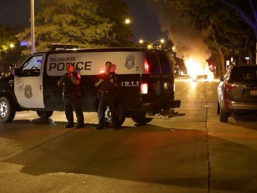 Протесты вМилуоки: двое человек ранены