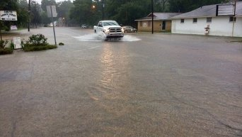 Масштабное наводнение в Луизиане