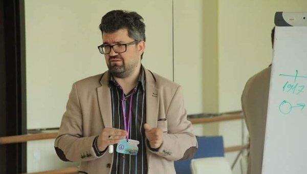 Психолог Максим Жидко. Архивное фото