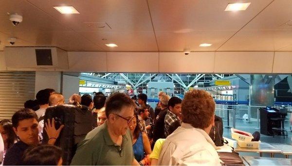 В Нью-Йорке в аэропорту Кеннеди произошла стрельба