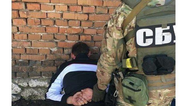 Задержание ополченца батальона Восток в Тернопольской области