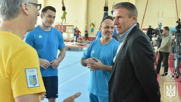 Президент Национального олимпийского комитета Украины Сергей Бубка
