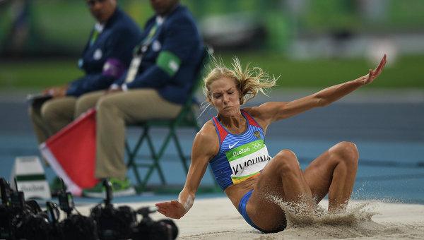 Дарья Клишина прошла вфинал Олимпийских игр впрыжках вдлину
