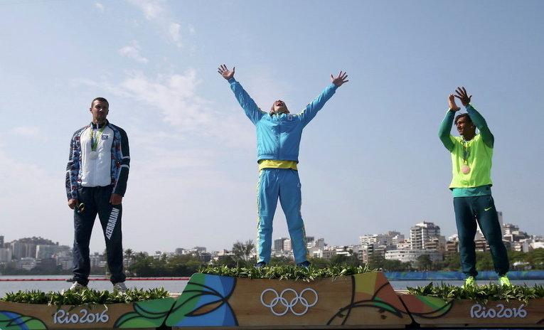 Юрий Чебан на Олимпиаде в Рио