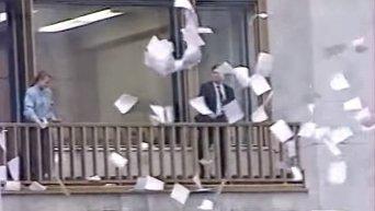 Программа 'ВРЕМЯ' от 19 августа 1991 года ГКЧП. Видео