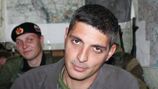 Ополченец самопровозглашенной ДНР по прозвищу Гиви