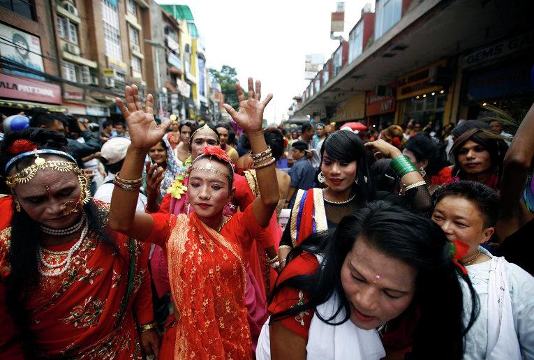 ЛГБТ парад в Непале