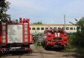 В Черкассах задымился вагон дизель-поезда