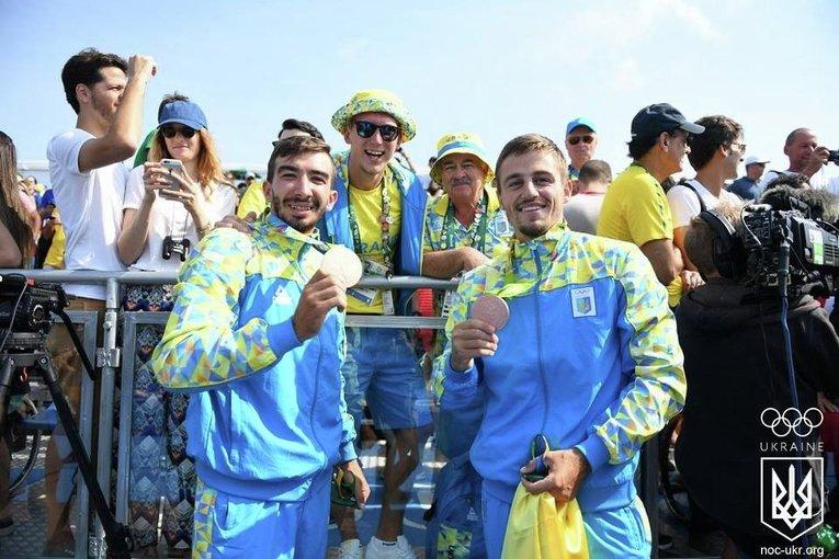 Украинские каноисты завоевали бронзу на Олимпиаде в Рио
