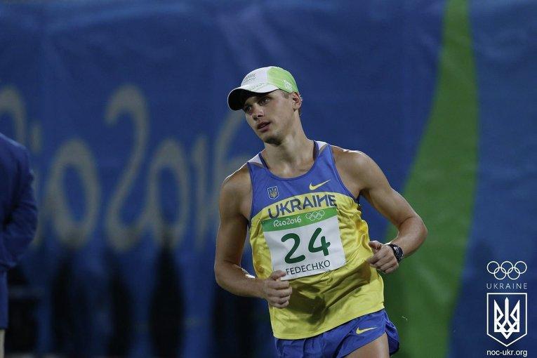 Андрей Федечко на Олимпиаде в Рио