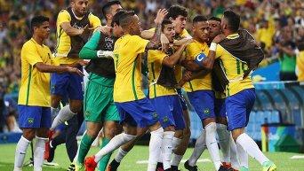 Матч Германия - Бразилия на Олимпиаде в Рио