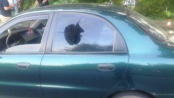 Военный открыл стрельбу в Харькове