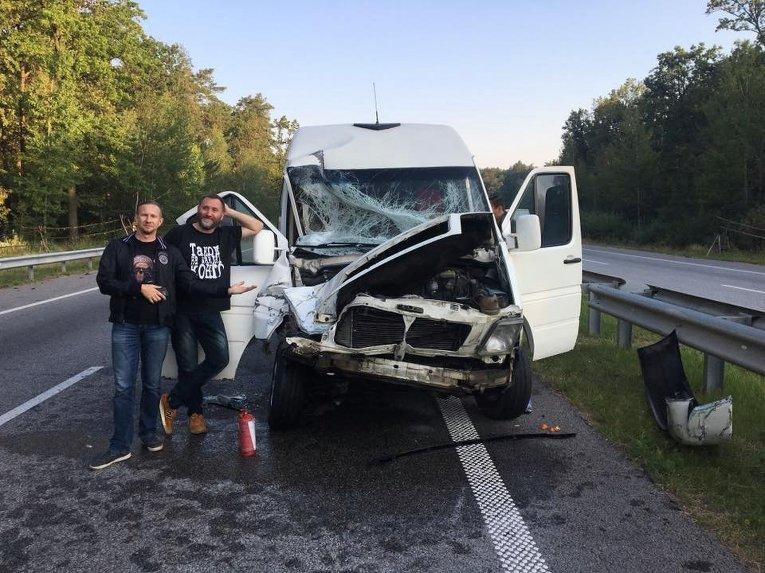 ТНМК попала в аварию