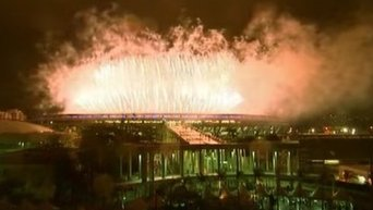 Церемония закрытия 31-ой летней Олимпиады. Видео