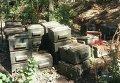 В Донбассе найден тайник с почти 2 тоннами тротила