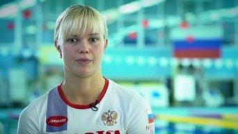 Российская паралимпийка Нина Рябова. Видео