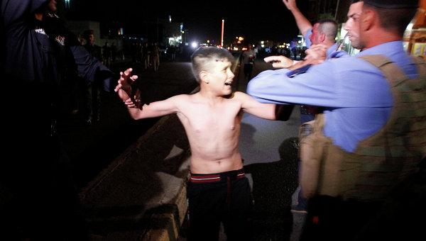 Иракские силы безопасности задерживают юного террориста-смертника