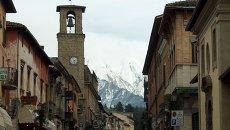 Итальянский город Аматриче