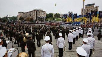 Военный парад в Киеве 24 августа 2016 года