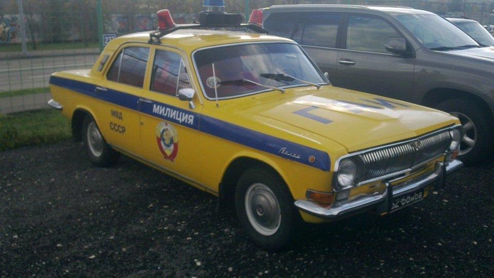 Автомобиль милиции СССР