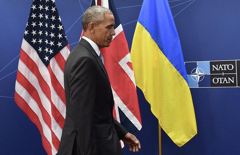 Президент США Барак Обама на саммите НАТО в Варшаве