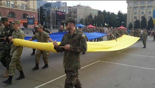 Шкиряк: Обстановка вУкраинском государстве кконцу дня оставалась спокойной